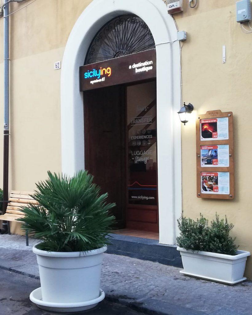 Deposito bagagli catania sede Via Crociferi
